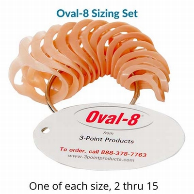 Oval-8 Finger Splint - Sizing Set