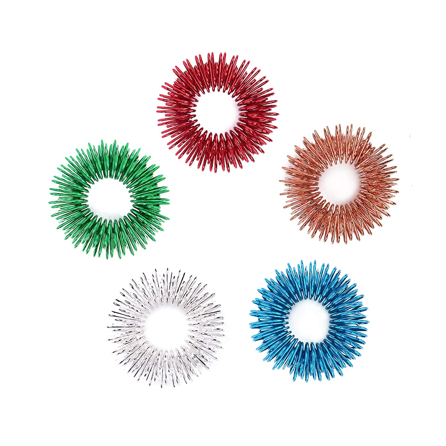 Acupressure Ring, set of 10