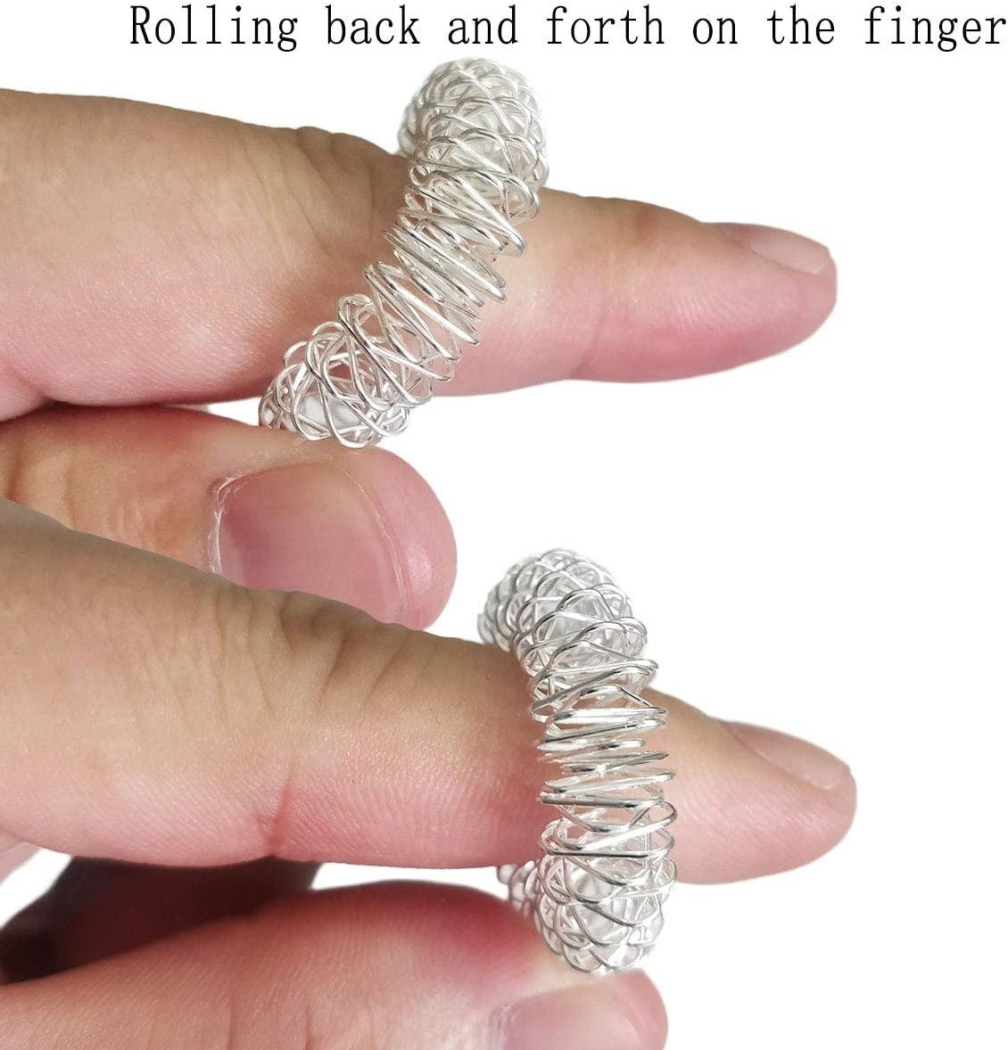 Acupressure Ring, set van 12