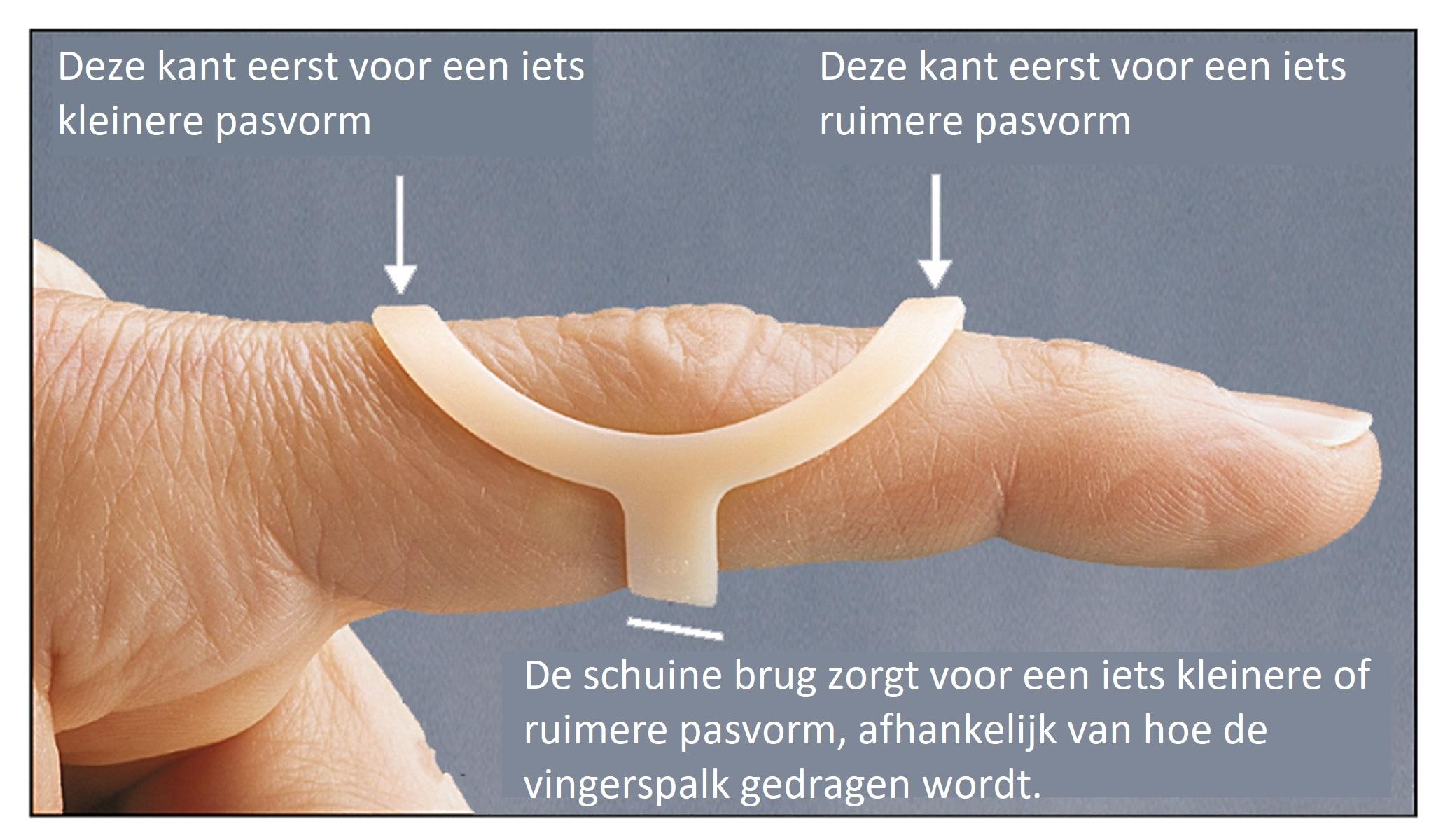 Oval-8 Finger Splint